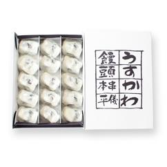 うすかわ饅頭の包装イメージ
